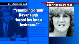 After assault allegation, politics are fierce over Kavanaugh nomination