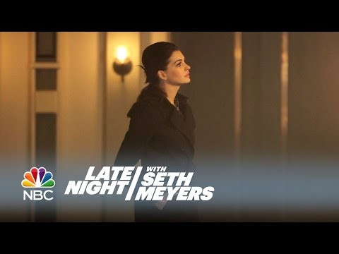 Anne Hathaway: The Last Scene of the Romantic Comedy – Late Night with Seth Meyers