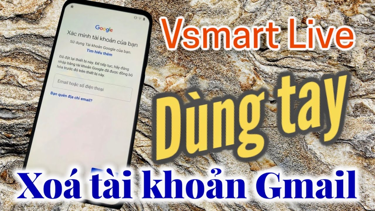 Vsmart Live FRP Bypass Google account Xóa tài khoản Gmail  Android  9 Without PC & OTG Cable