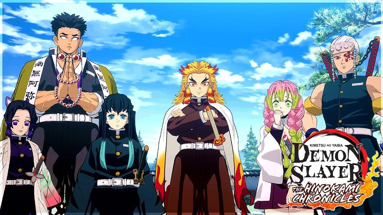 Download The HASHIRA Meeting...The GREATEST New Demon Slayer game (Hinokami Chronicles) Story Part 5