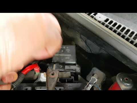 Ford Fiesta fan problem...faulty relay.