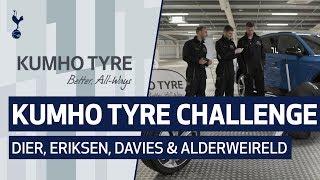 KUMHO TYRE CHALLENGE | Ft. Eric Dier, Christian Eriksen, Ben Davies and Toby Alderweireld