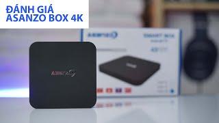 Đánh giá TV BOX ASANZO 4K, tìm kiếm giọng nói tiếng Việt 1 triệu có đáng mua?