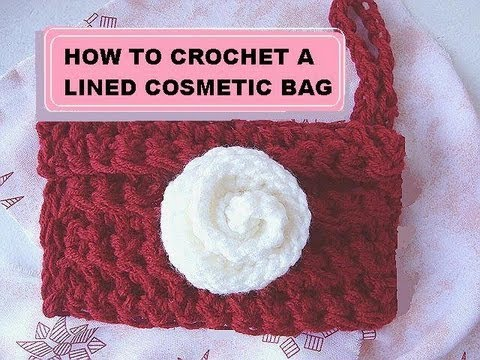 Crochet Bag Youtube : CROCHET A COSMETIC BAG. - YouTube