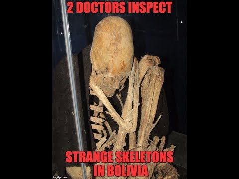 Two American Doctors Inspect Strange Ancient Skeletons In Bolivia