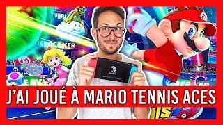 J'ai joué à MARIO TENNIS ACES sur Nintendo Switch : toutes les infos