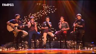 The Collective: Lego House - The X Factor Australia 2012 - Live Show 6, TOP 7