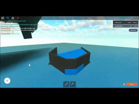 Roblox Whatever Floats Your Boat Ep 2 WORKING ON THE WILLIAMBLOX YACHT