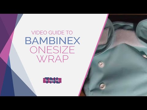 AIO etc. Muslins Bambinex OneSize Wrap ** Pack of 2 ** Nappy Cover ...