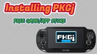 Free PSN Store - PKGj for PS Vita with Enso 3.65
