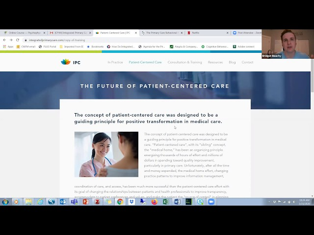 PCBH Corner; Dr. Blount discusses resources for BH providers and new website