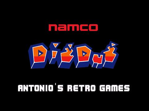 Dig Dug [1982] (Namco) Antonio's Video Games [RETRO GAME]