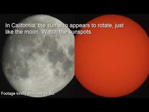 Flat Earth Proof Moon & Sun Flip, Rotate   YouTube