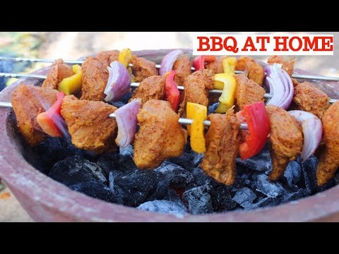 SIMPLE CHICKEN BBQ AT HOME | HOW TO MAKE BBQ AT HOME