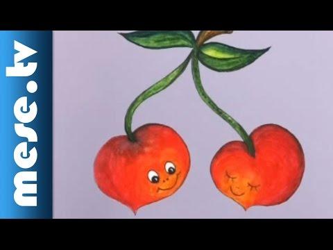 Rajzos dalolás - Cseresznyével (animáció kis gyerekeknek) thumbnail