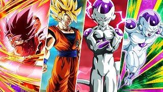 Dbz Dokkan Battle: How To Sa10 The 4 New Goku & Friezas, 100% F2p! Guide