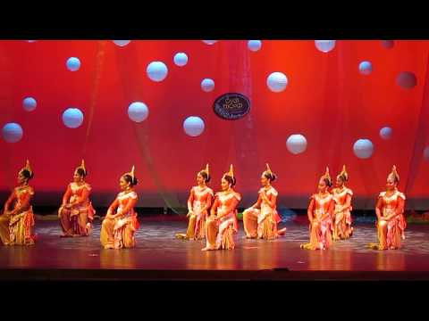 sri lankan traditional fusion dance in New York- Ranga Tharanga 2017