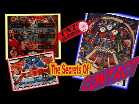 #1302 Williams CONTACT Pinball Machine & It's SECRETS! TNT Amusements