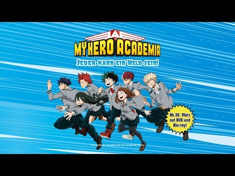 My Hero Academia (Anime-Trailer)