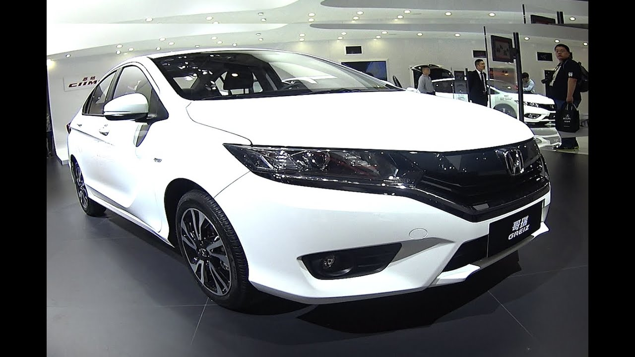Officially NEW 2016 2017 Honda City Greiz Redesigned Debuts In China