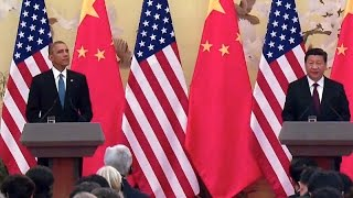 President Obama Joins President Xi of China in a Joint Press Conference