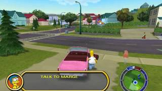 Como evitar que la poli te persiga en THE SIMPSONS HIT & RUN PC - HD+Comentado