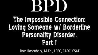 Dating someone borderline personality disorder symptoms