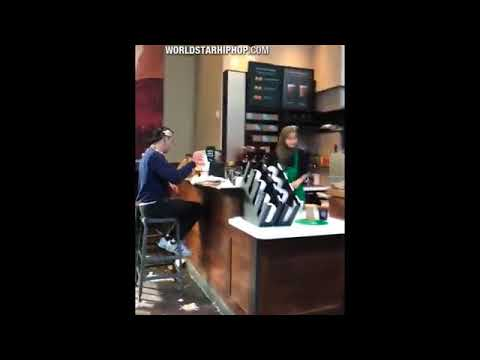 Woman throws her drink at a Starbucks manager then demands a refund for the drink