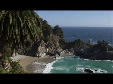 Dramatic beauty of California. Big Sur