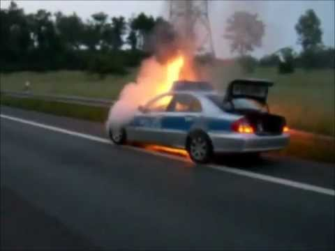 german police in action compilation