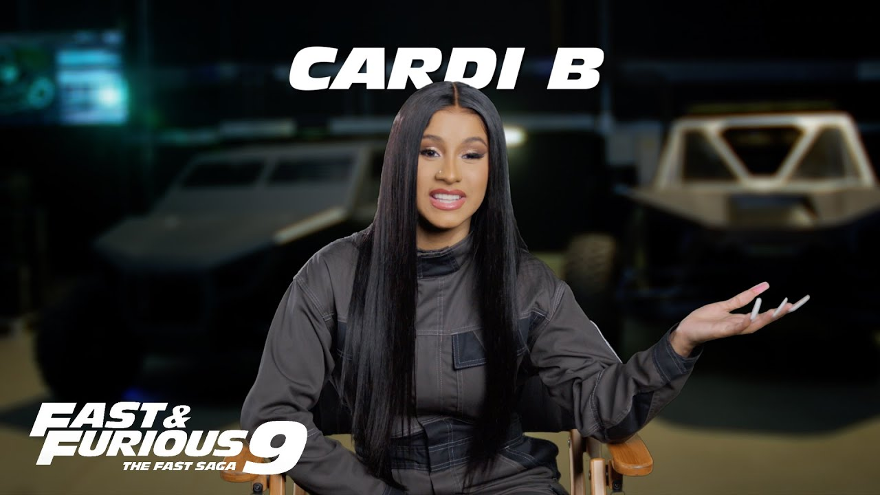 FAST & FURIOUS 9 – Cardi B (Universal Pictures)