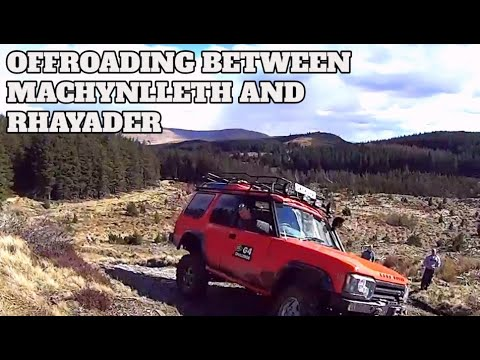 Some gentle offroading in the Welsh Mountains