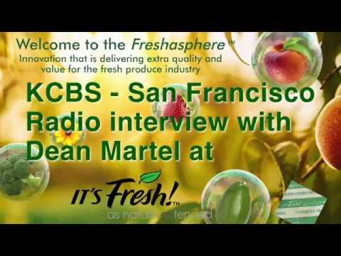 KCBS - San Francisco -CBS Radio Interview with Dean Martel at It's Fresh!