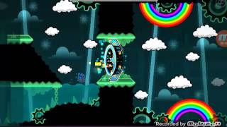 Geometry Dash- Easy silver coin level