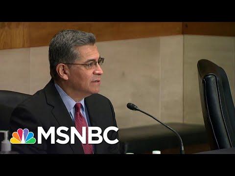 Republican Bad Faith Seen In Hollow Objections To Biden HHS Nominee Becerra | Rachel Maddow | MSNBC