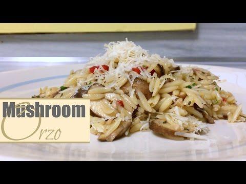 Recipe of The Month : Mushroom Orzo