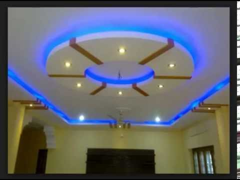 Latest best pop ceiling designs and pop design for walls for P o p indian home designs