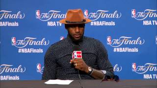 What LeBron James said after Cleveland Cavaliers lose 2015 NBA Championship to Warriors