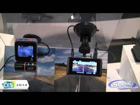 Cobra CDR810 & CDR830 Dash Cameras | CES 2014