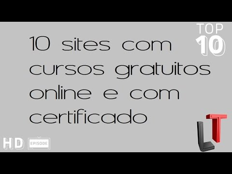 10 sites com cursos gratuitos e com certificado