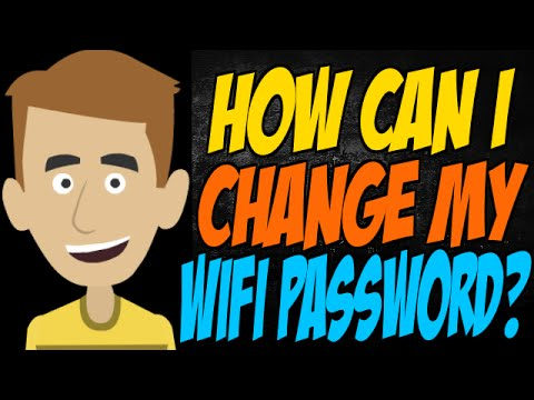 how to change wifi password att