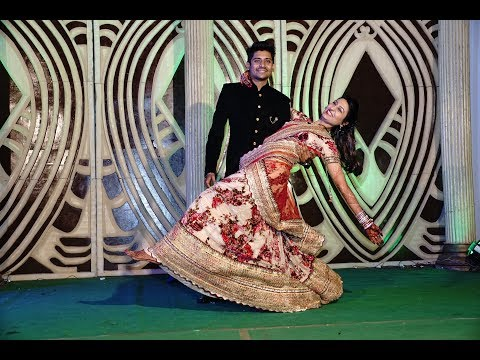 world's most romantic sangeet couple dance | pahela nasha | tenu le ke | bollywood | wedding dance