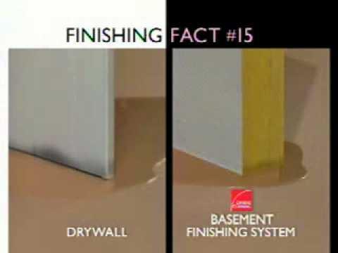 The Owens Corning™ Basement Finishing System™   Finishing Fact #15