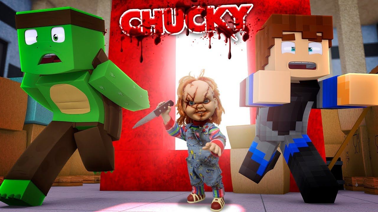 minecraft how to build chucky