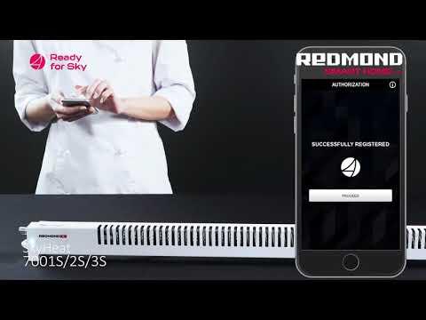 Конвектор Redmond SkyHeat RCH-7003S черный