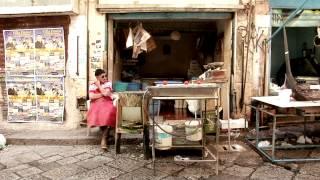 il mercato invisibile alla Vucciria di Palermo