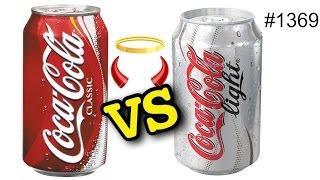 Что хуже - Кола Лайт или Coca Cola? 10 фактов что будет если сварить их обе!