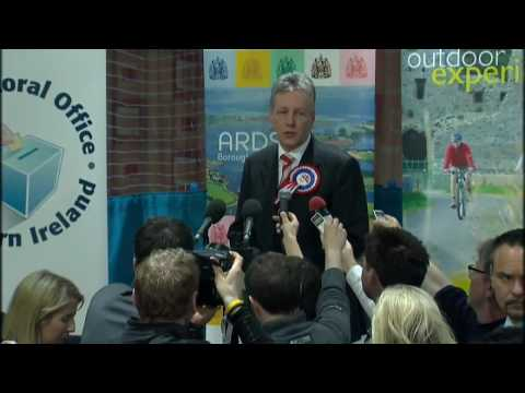 First Minister Peter Robinson loses seat