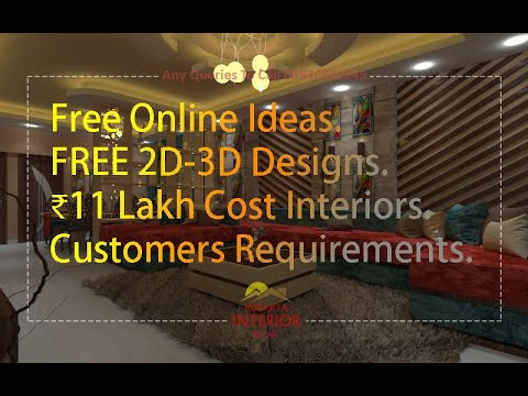 3 Bhk Apartment Interior Design New Town Kolkata 11 Lakhs Cost 3d Designing Designer Service Ideas Youtube