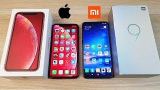 IPHONE XR VS XIAOMI MI 9 - ЧТО ЛУЧШЕ? ПОЛНОЕ СРАВНЕНИЕ!